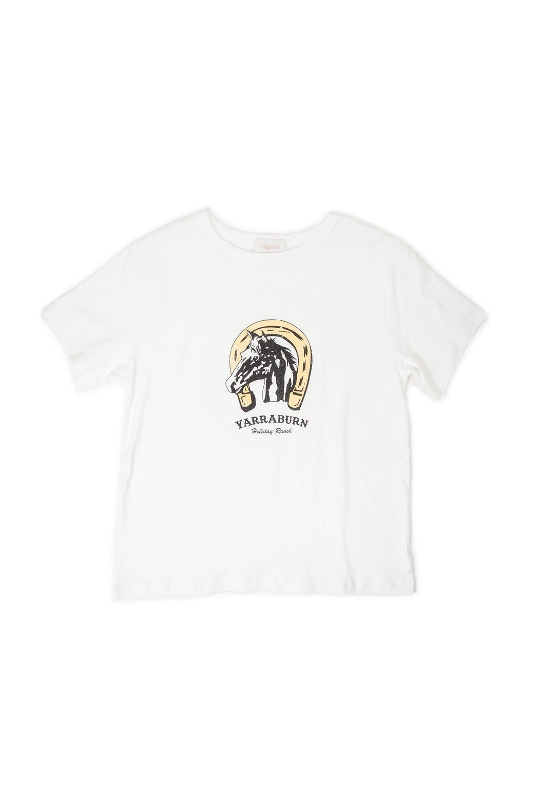 Auguste The Label  Ranch Tee White - Front Full Image