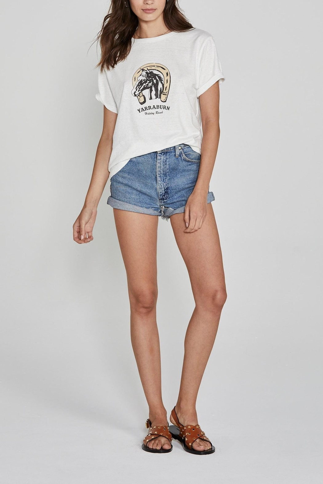 Auguste The Label  Ranch Tee White - Main Image