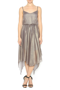 Shoptiques Product: Metallic Strappy Dress
