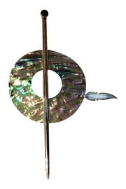 Randy Garcia Abalone Shawl Pin - Product Mini Image