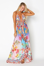 ranee?s Dreamy Floral Halter Dress - Front cropped