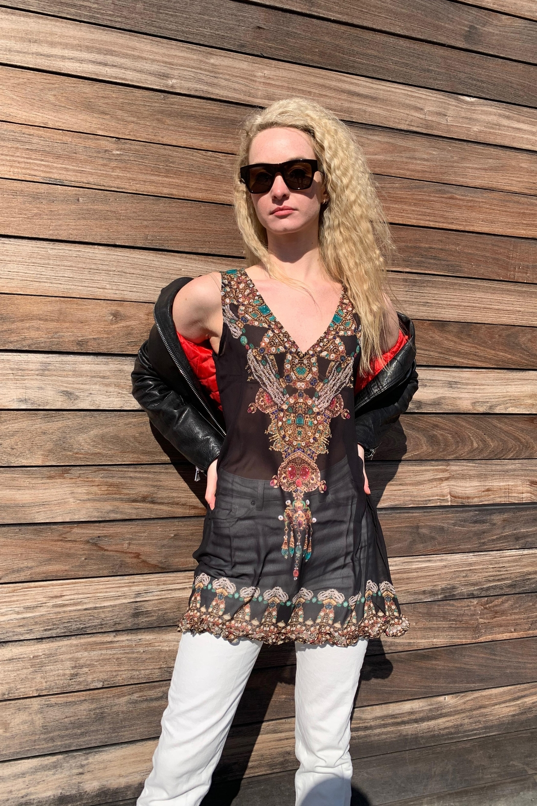 ranee?s Jeweled Tunic - Front Full Image
