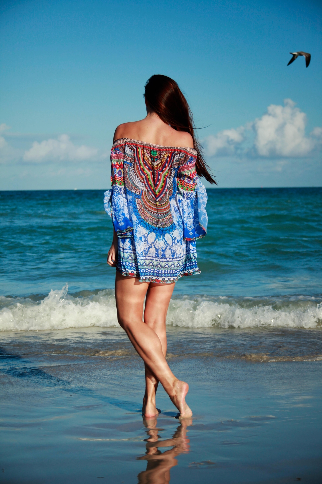 ranee?s Offshoulder Tunic - Front Full Image