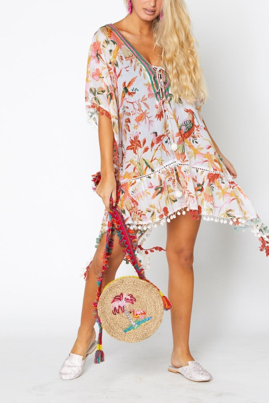 ranee?s Tropical Kaftan - Front Cropped Image