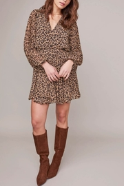 ASTR Raphaela Leopard Dress - Product Mini Image