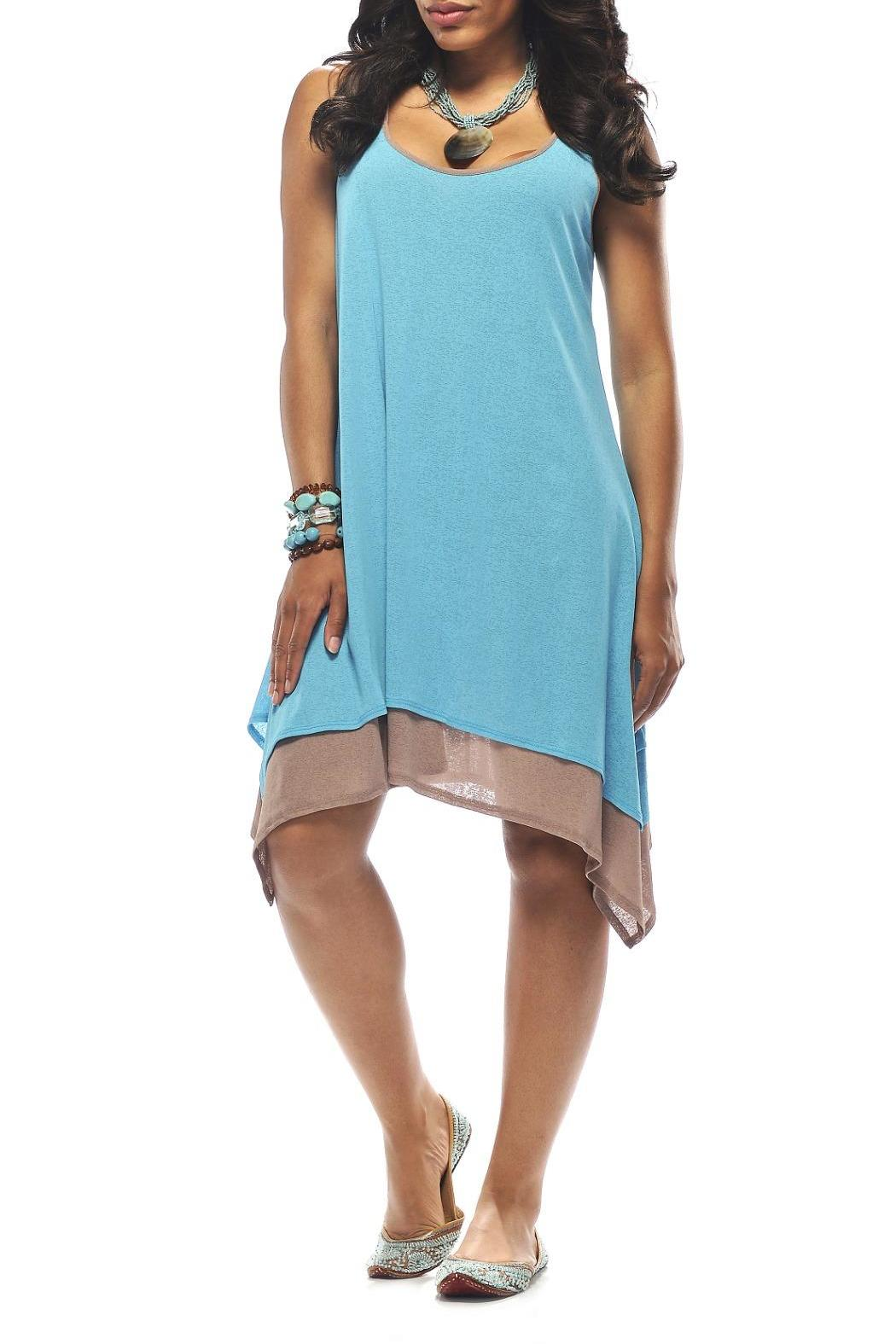 Rapz Layered Beach Dress - Main Image