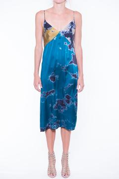 Raquel Allegra Charm Silk Slip Dress - Product List Image