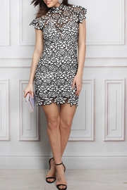 Rare London Crochet Mini Dress - Product Mini Image