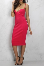 Rare London Cupped Bodycon Dress - Product Mini Image