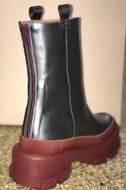 ras Platform Leather Boots - Product Mini Image