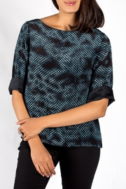 Rasa Checkerboard Misha Top - Product Mini Image