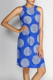 Rasa Cobalt Amber Dress - Product Mini Image