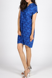 Rasa Cobalt Maria Dress - Product Mini Image