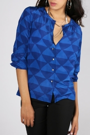 Rasa Cobalt Osho Shirt - Product Mini Image