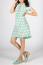 Rasa Maria Aqua Dress - Product Mini Image