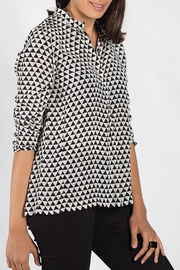 Rasa Monochrome Rajput Shirt - Front full body