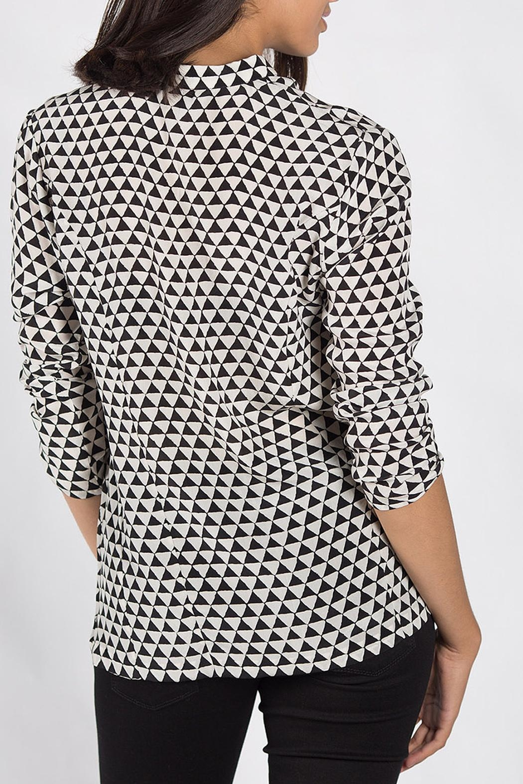 Rasa Monochrome Rajput Shirt - Side Cropped Image