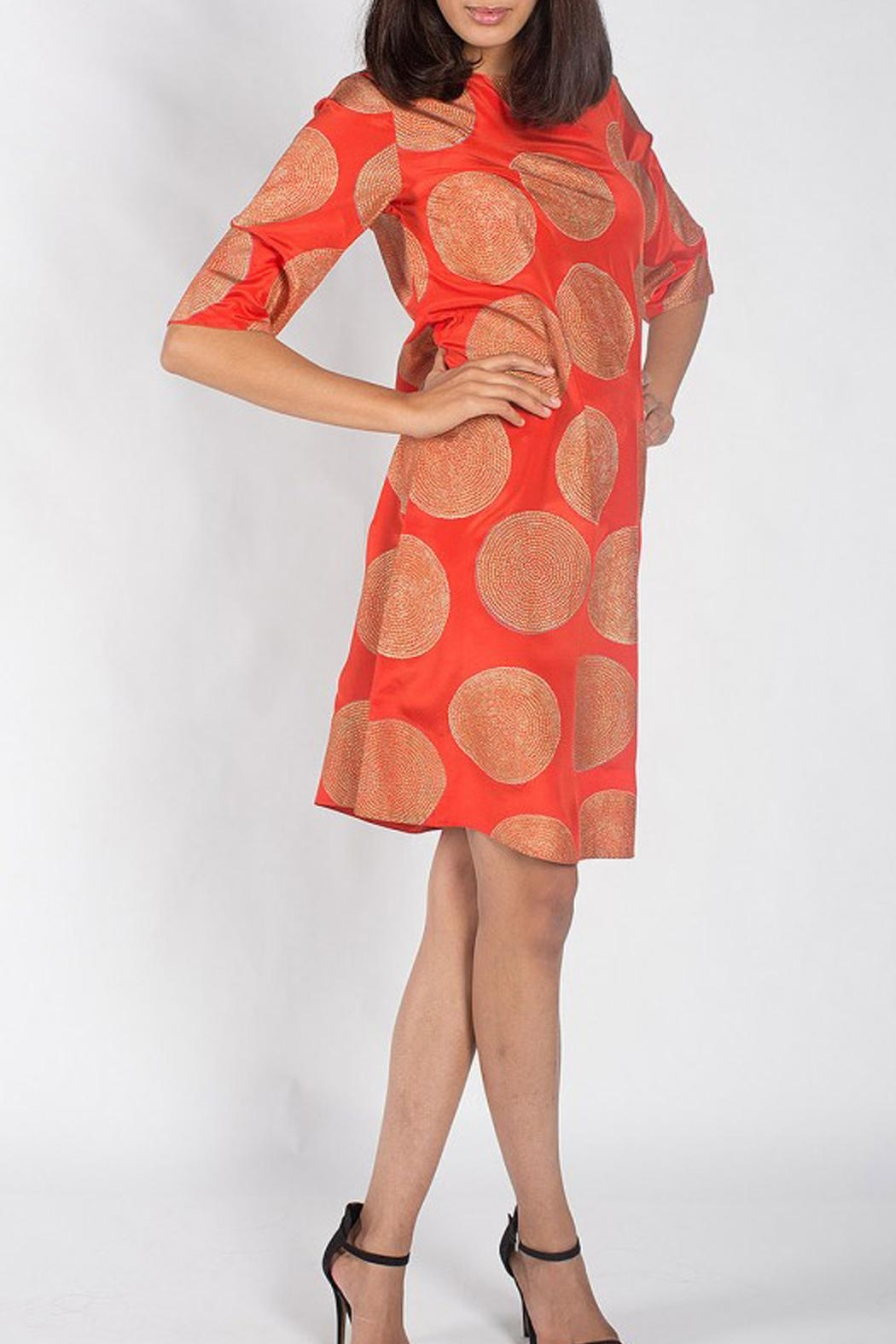 Rasa Orange Misha Dress - Main Image