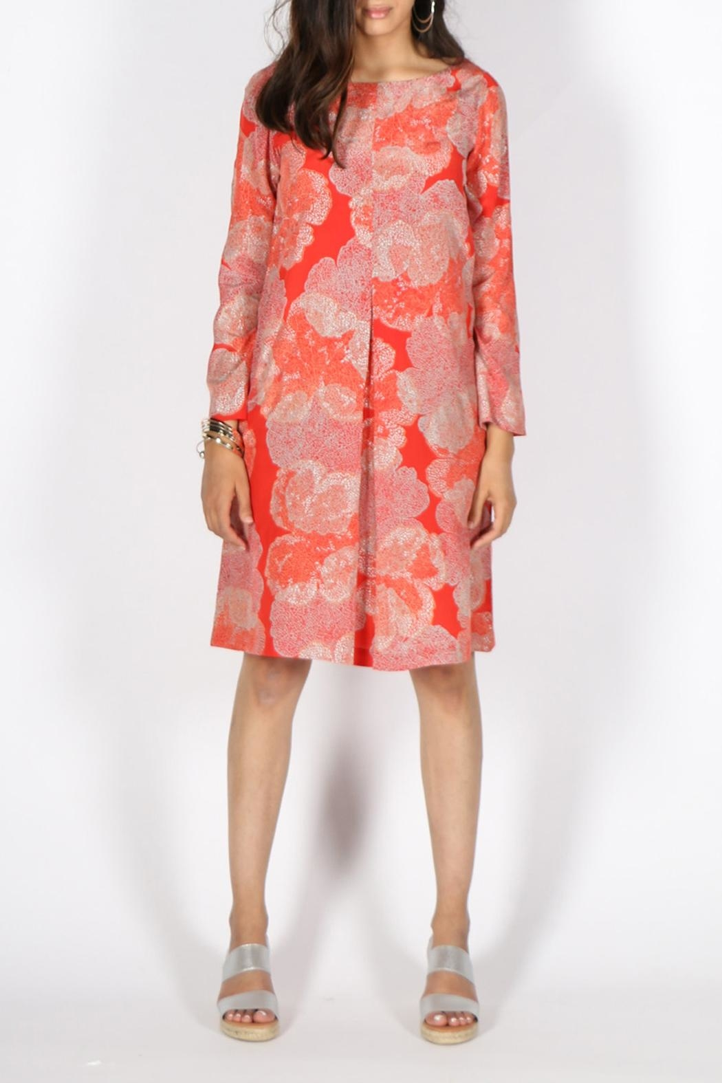 Rasa Orange Selina Dress - Main Image