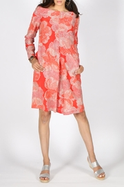 Rasa Orange Selina Dress - Front full body