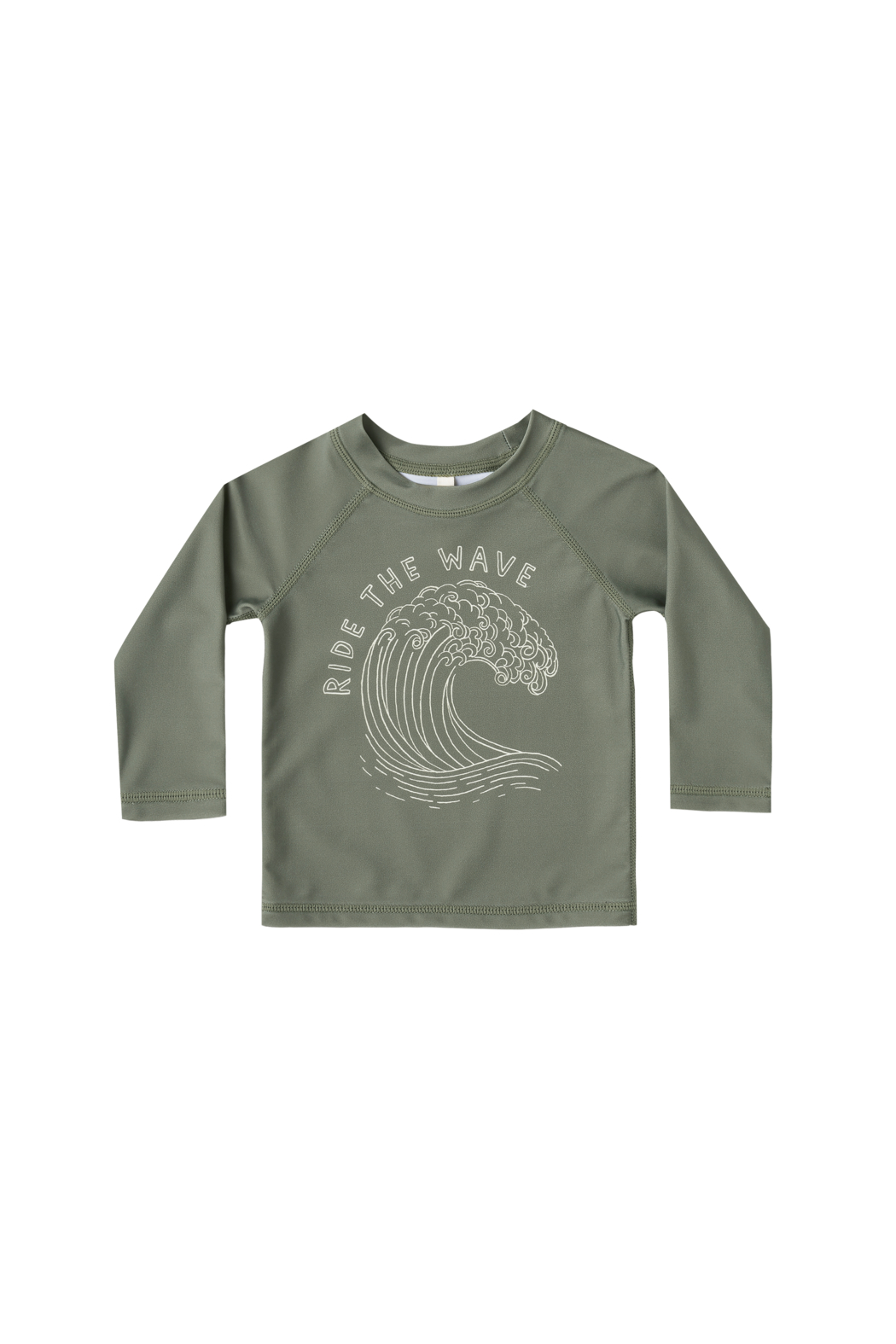Rylee & Cru Rashguard Ride the Wave Top - Front Cropped Image