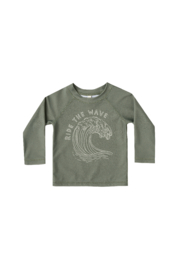 Rylee & Cru Rashguard Ride the Wave Top - Front cropped