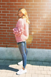 Rumor Raspberry Cardigan - Product Mini Image