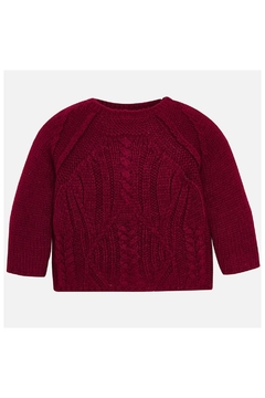 Shoptiques Product: Raspberry Knit Sweater