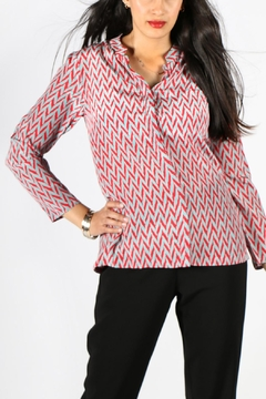 Rasa Rathore Chevron Shirt - Product List Image