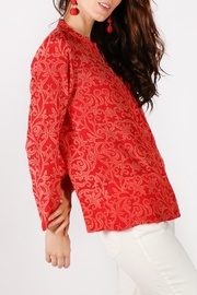 Rasa Rathore Crackle Top - Side cropped