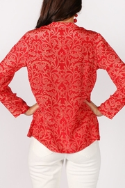 Rasa Rathore Crackle Top - Back cropped