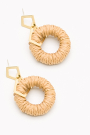 Nakamol  Ratton Hoop Earring - Front cropped