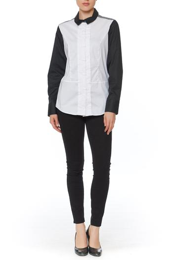 Ravel Button Down Blouse - Main Image
