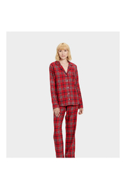 Ugg RAVEN FLANNEL PJ SET - Front cropped