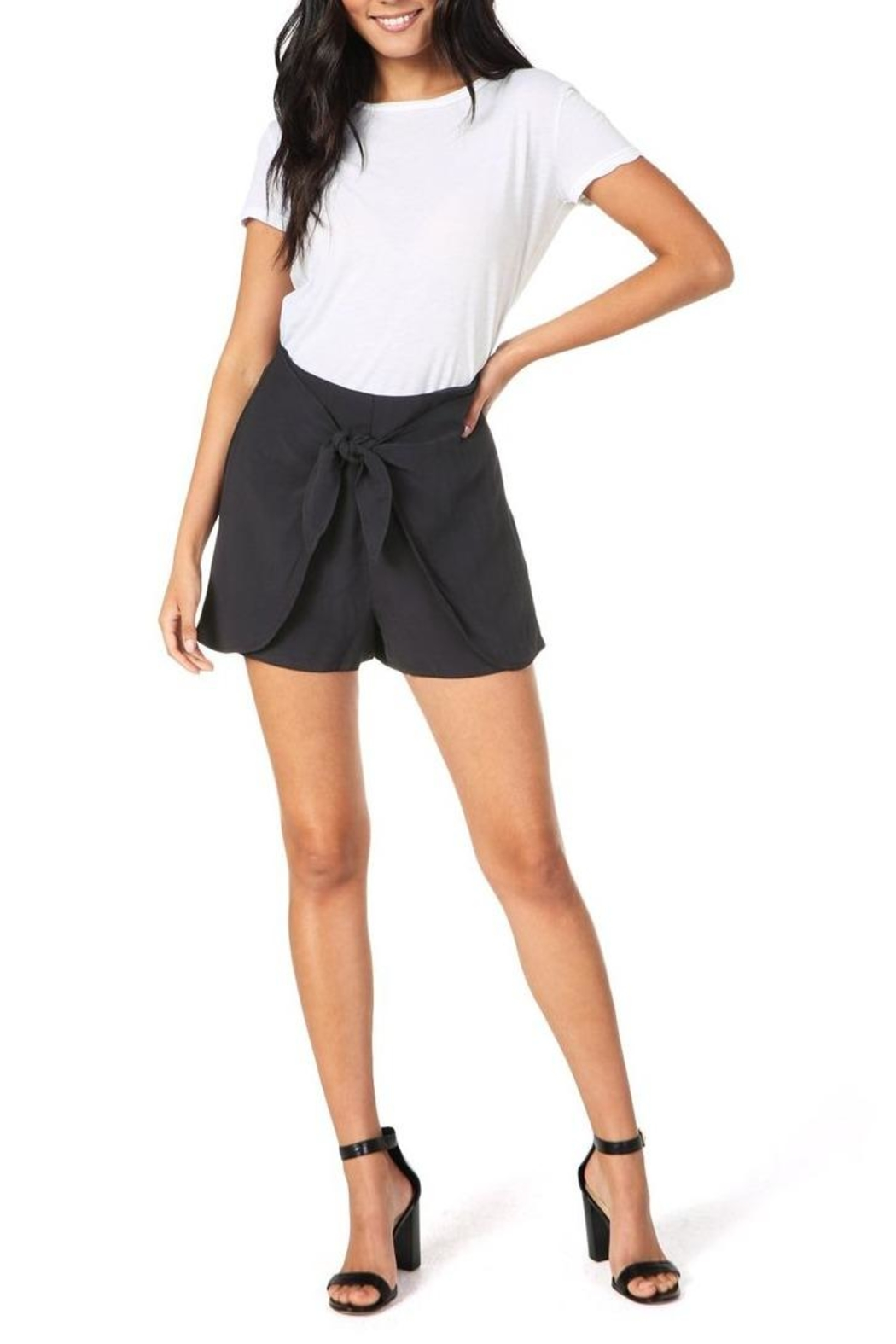 Cupcakes & Cashmere Raven Midnight Shorts - Main Image