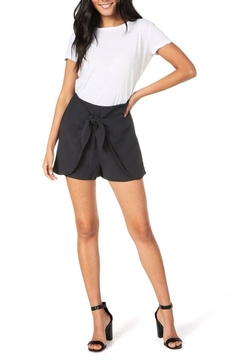 Cupcakes & Cashmere Raven Midnight Shorts - Product List Image