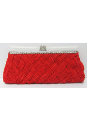 KIMBALS Ravishing Red Clutch Bag - Front cropped