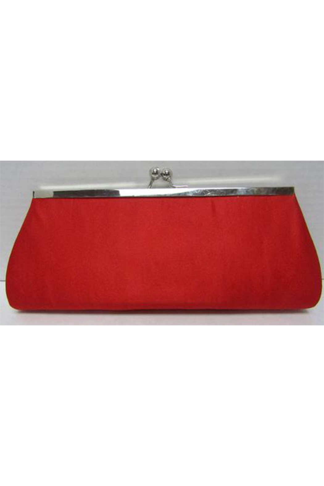KIMBALS Ravishing Red Clutch Bag - Front Full Image