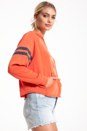 Others Follow  Raw Edge East Hoodie - Side cropped
