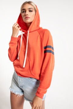 Shoptiques Product: Raw Edge East Hoodie