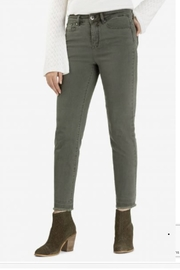 Tribal Raw Edge Jean - Front cropped
