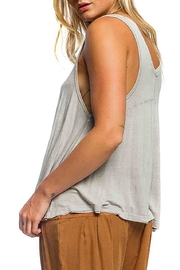 Anama Raw Edge Tank - Front full body