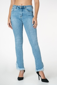 Funky Soul Raw flair jeans - Product List Image