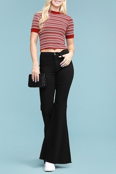 Judy Blue Raw Hem Bell Bottoms - Product List Image