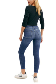 Free People Raw High-Rise Jegging - Front full body