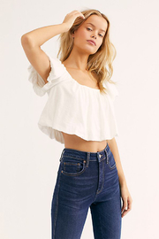 Free People Raw High Rise Jegging - Back cropped