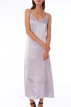 Tina + Jo Raw Satin Slip-Dress - Product List Image