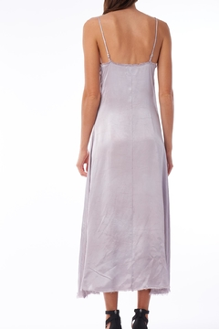 Tina + Jo Raw Satin Slip-Dress - Alternate List Image