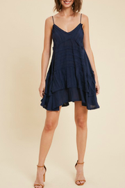 Wishlist RAW TRIMMED FLOWY MINI DRESS - Product Mini Image