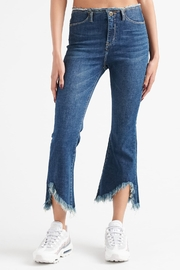 Funky Soul Raw waist denim pants - Product Mini Image